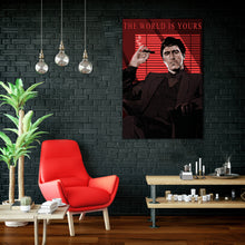 Scarface ( the world is yours ) artwork by Code Zero Studio