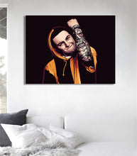Mac Miller artwork by Biko T