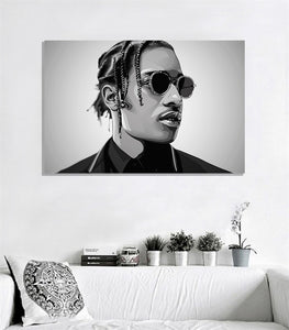 Asap rocky (black and white) by Biko T.