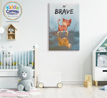 14.  Brave artwork - KIDS CANVAS - by Arts of Hero