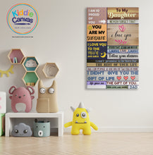 68. Dad quotes artwork - KIDS CANVAS - by Arts of Hero