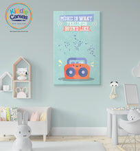 67. Music Box artwork - KIDS CANVAS - by Arts of Hero