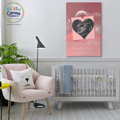 79. Sonogram girl 2 - KIDS CANVAS -