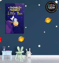 25. Twinkle Star artwork - KIDS CANVAS - by Arts of Hero