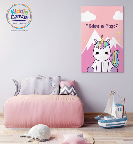 2. Unicorn artwork - KIDS CANVAS - by Arts of hero