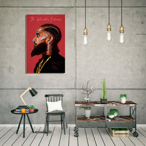 Nipsey Graffiti artwork by Code Zero Studio