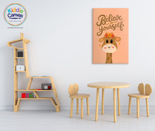 71. Be Yourself artwork - KIDS CANVAS - by Nynja