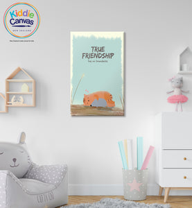 29. True Friendship artwork - KIDS CANVAS - by Arts of Hero