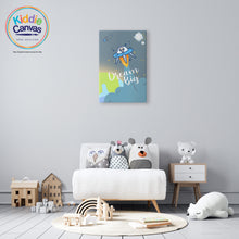 52. Alien artwork - KIDS CANVAS - by Arts of Hero