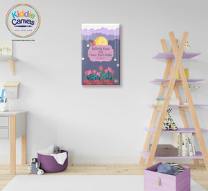 43. Flower Pot artwork - KIDS CANVAS - by Arts by Hero