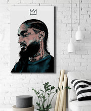 Nipsey ( Crenshaw King) Artwork by Zac Art