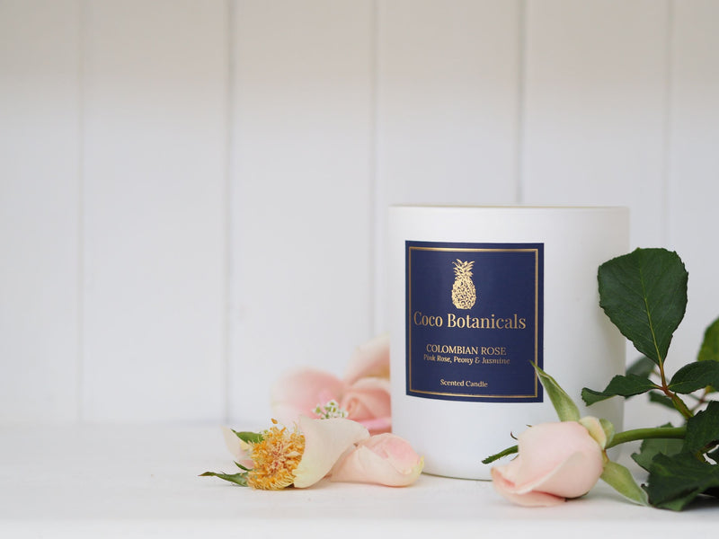 Colombian Rose - Pink Rose, Peony & Jasmine - 350g Candle