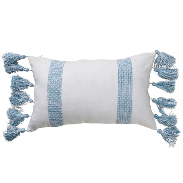 Stripe Coastal Jacquard Cushion 30x50cm
