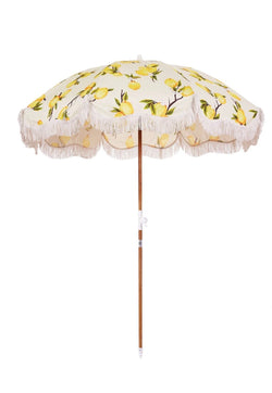 Amalfi Coast ''Vintage Lemon'' Holiday Beach Umbrella