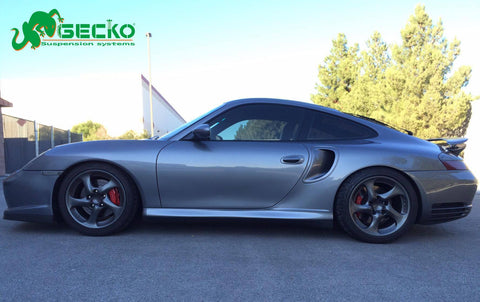 GECKO RACING G-STREET Coilover for 98~04 PORSCHE 996 / 911 / Carrera 4WD