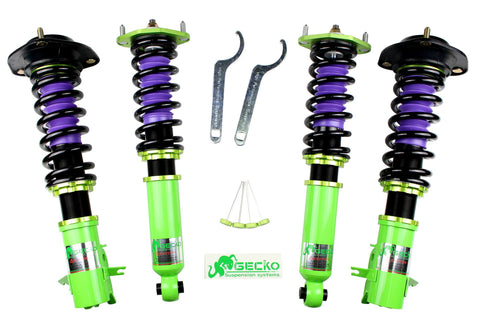 GECKO RACING G-STREET Coilover for 11~17 SUZUKI Wagon R / Solio