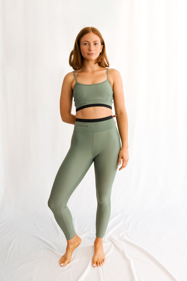 Sage Movement 7/8 High Waisted Legging