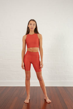 Clay Movement High Waist Bike Short
