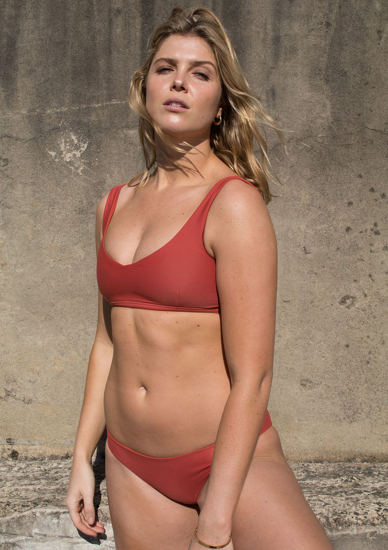 Clay Active Bikini Crop