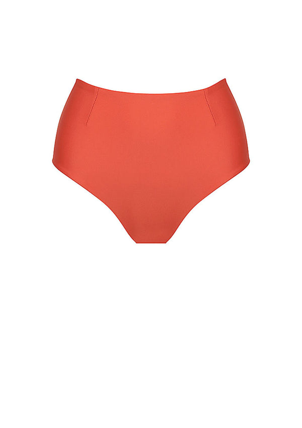 Clay High Waisted Bikini Bottom