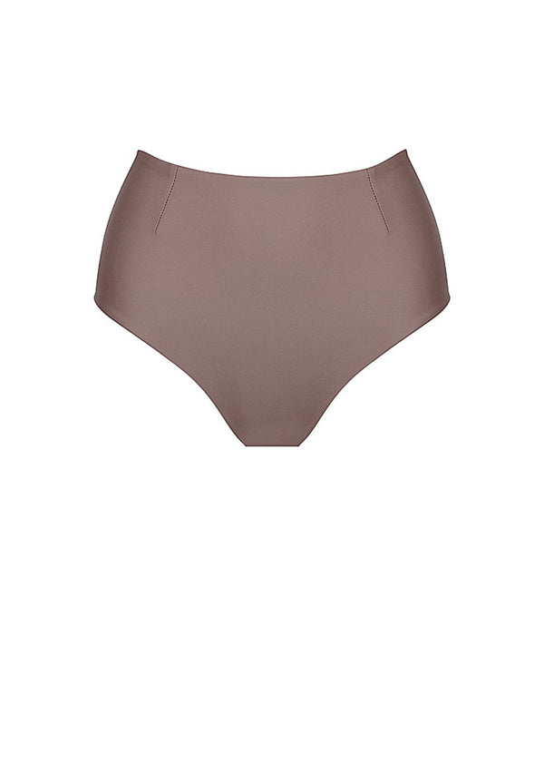 Cocoa High Waisted Bikini Bottom
