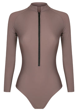 Cocoa Long Sleeve Surf & Sun Suit