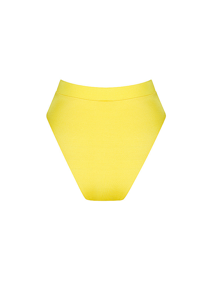 High Waisted Bikini Bottom | Lemonade