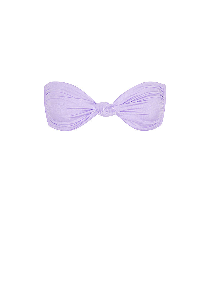 Le Babe Knot Top | Lilac