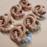 "All colors available for ""Charlie"" teether by Zao&Co"