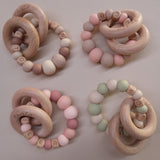 "Zao&Co ""Evie"" Personalised teething ring"