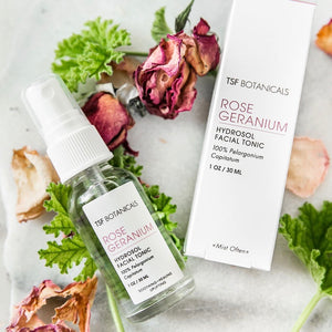 Rose Geranium Facial Tonic | Mature + Dry Skin
