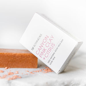Canyon Pink Clay + Citrus Soap | Normal | Mature + Dry Skin