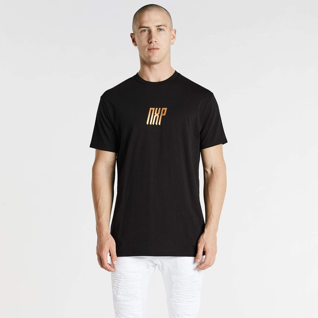 Alpha Relaxed T-Shirt Jet Black