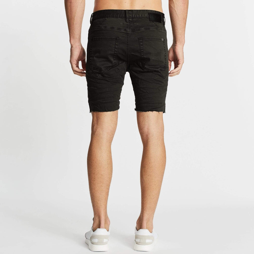 Apocalypse Denim Short Black