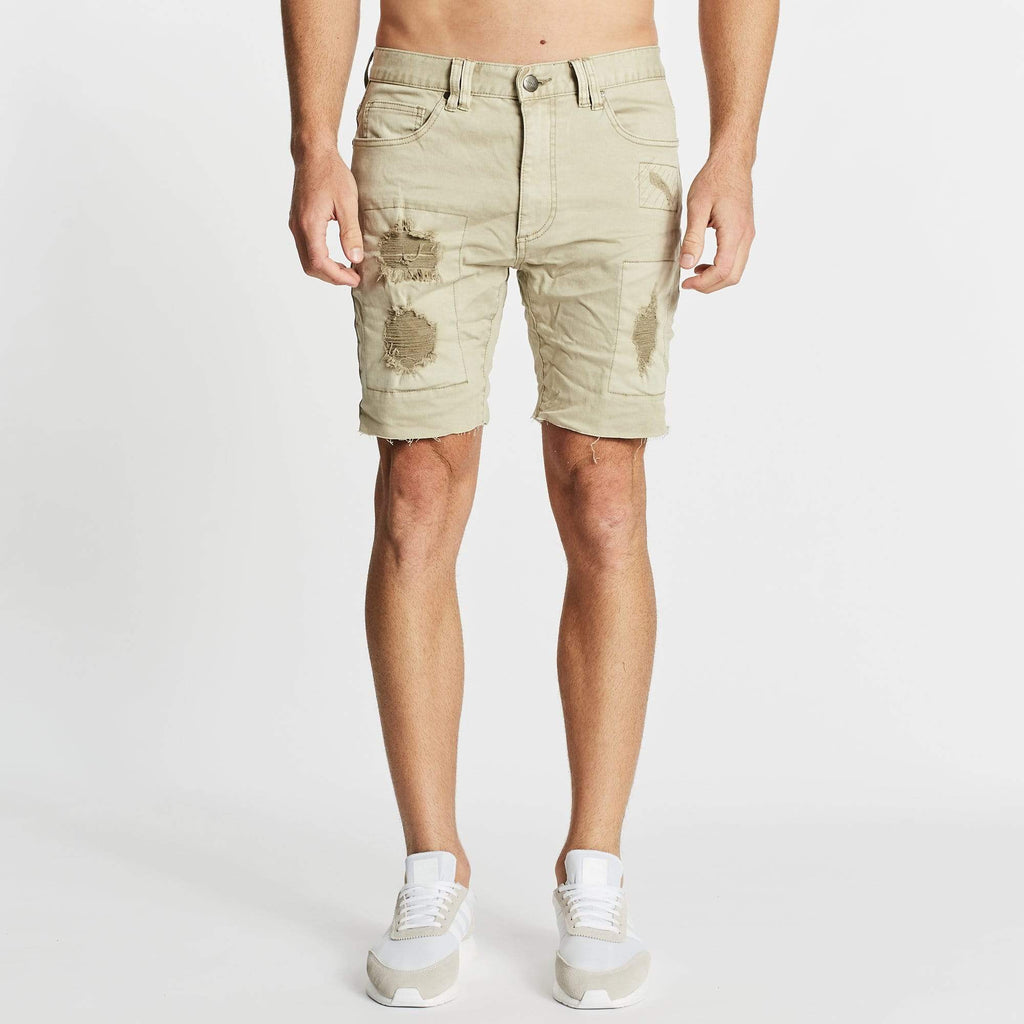 Apocalypse Denim Short Stone