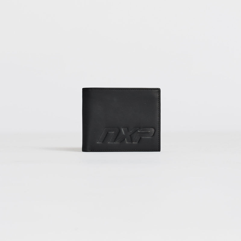 Black Star Bi-Fold Wallet Black