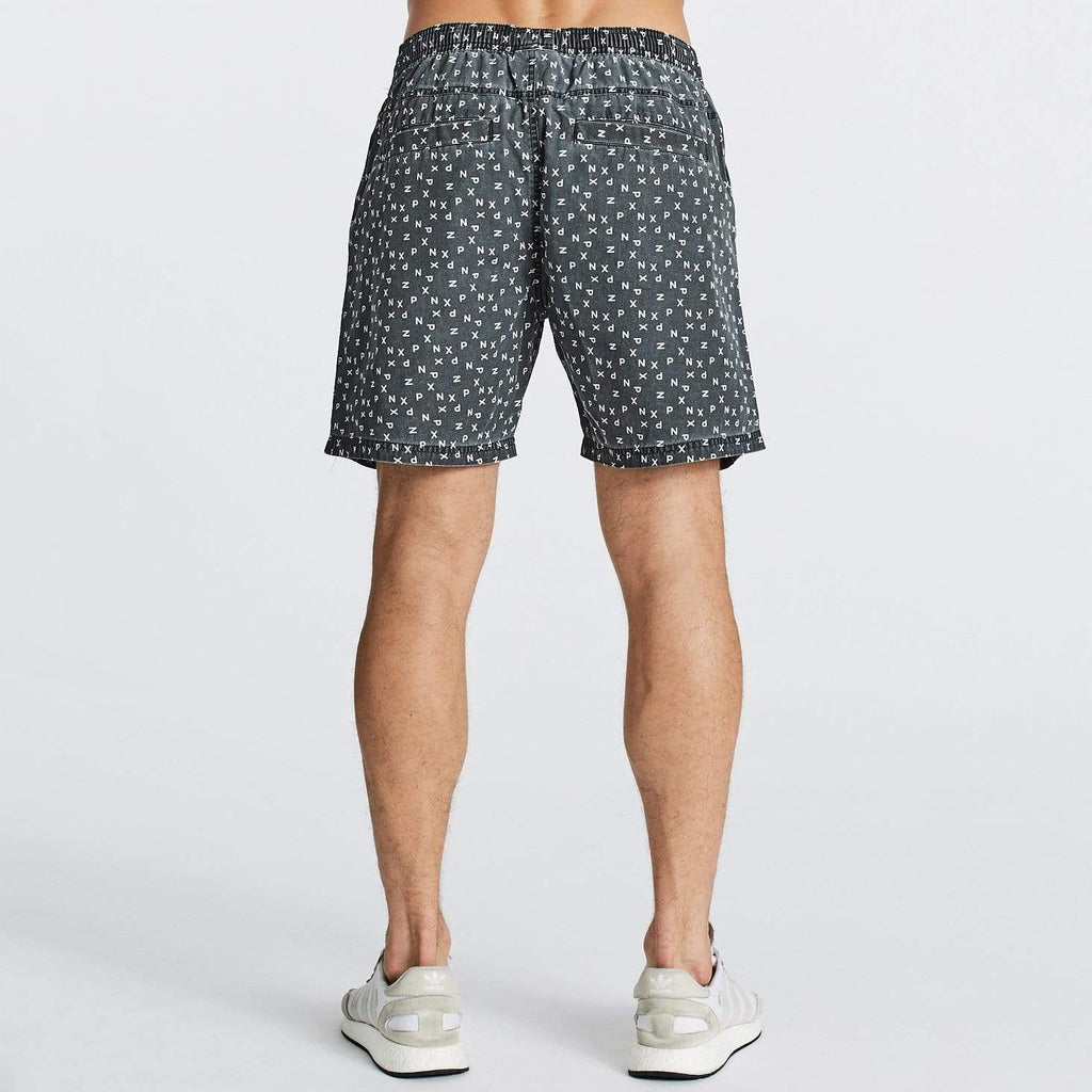 Boulevard Basic Swim Shorts Jet Black
