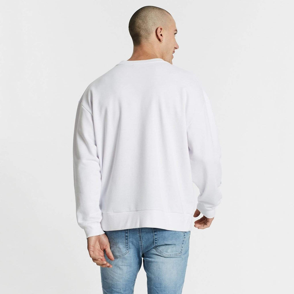 Bryant Relaxed Fit Jumper White