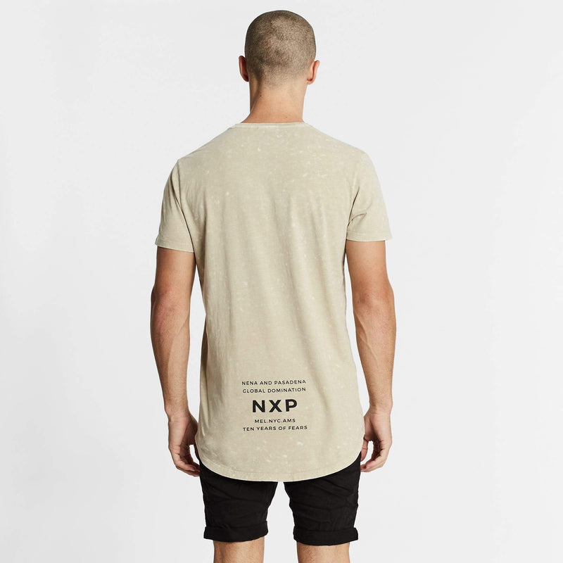 Can't Hold Us Cape Back T-Shirt Pigment Acid Sand