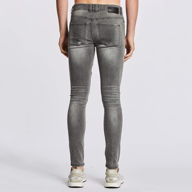 Combination Biker Jeans Grey Trash