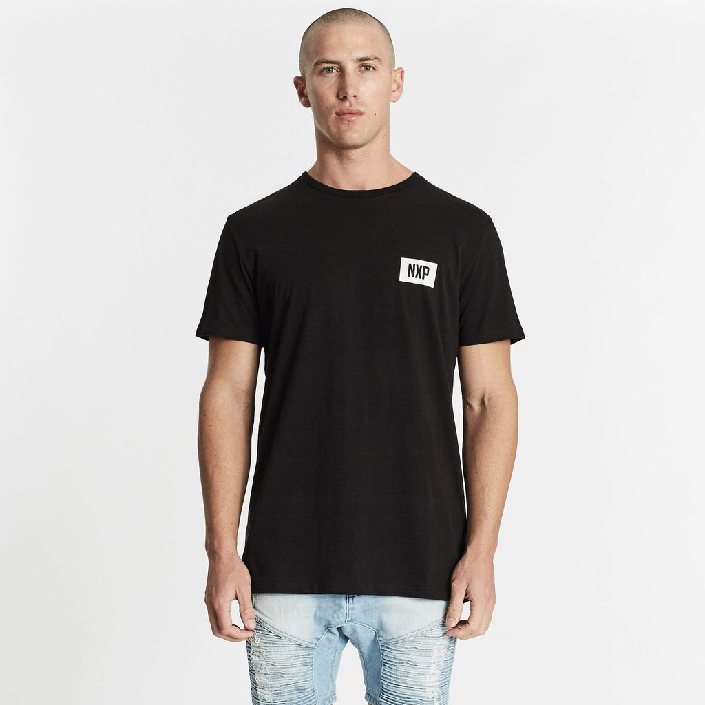 Darkness Scoop Back T-Shirt Jet Black