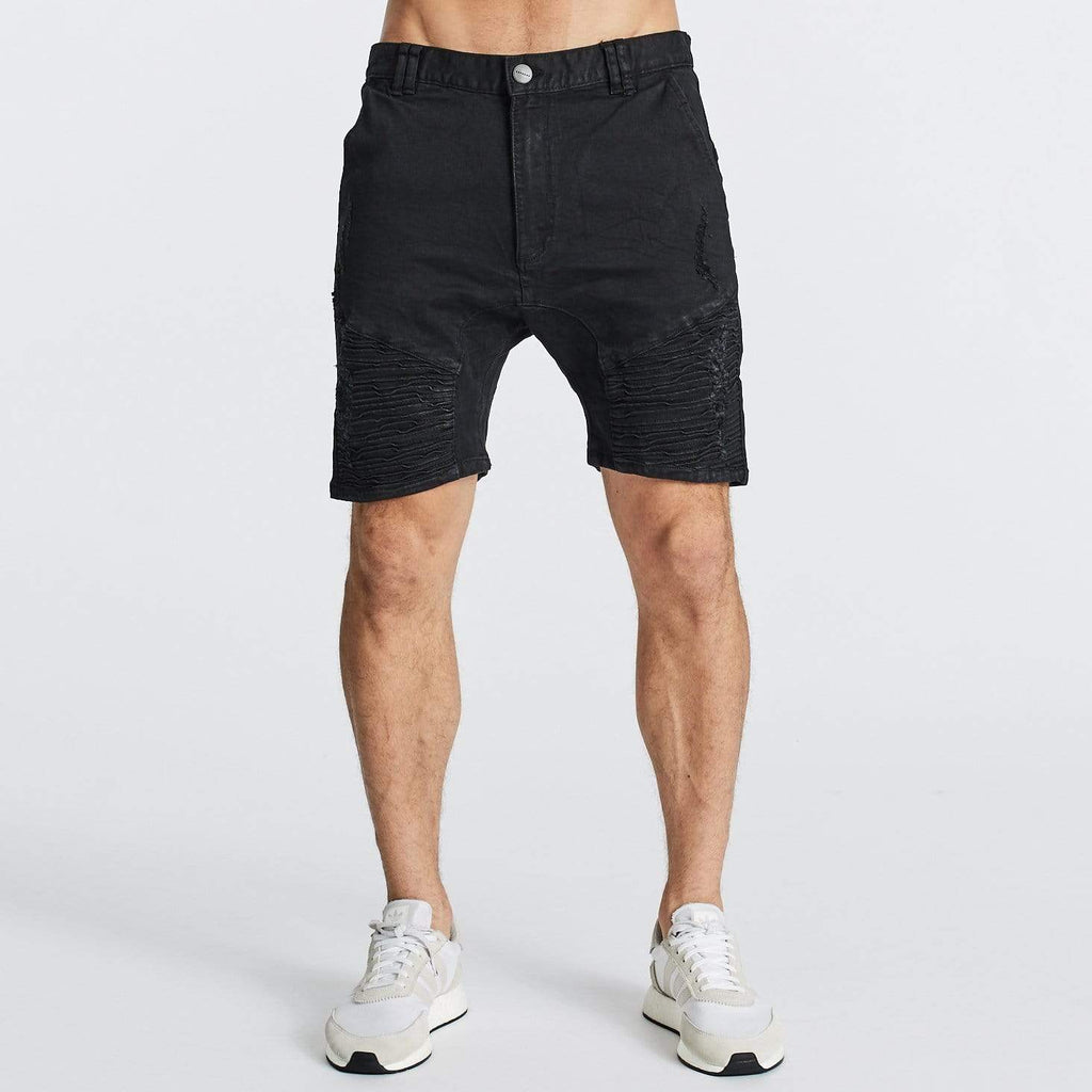Destroyer Shorts Jet Black