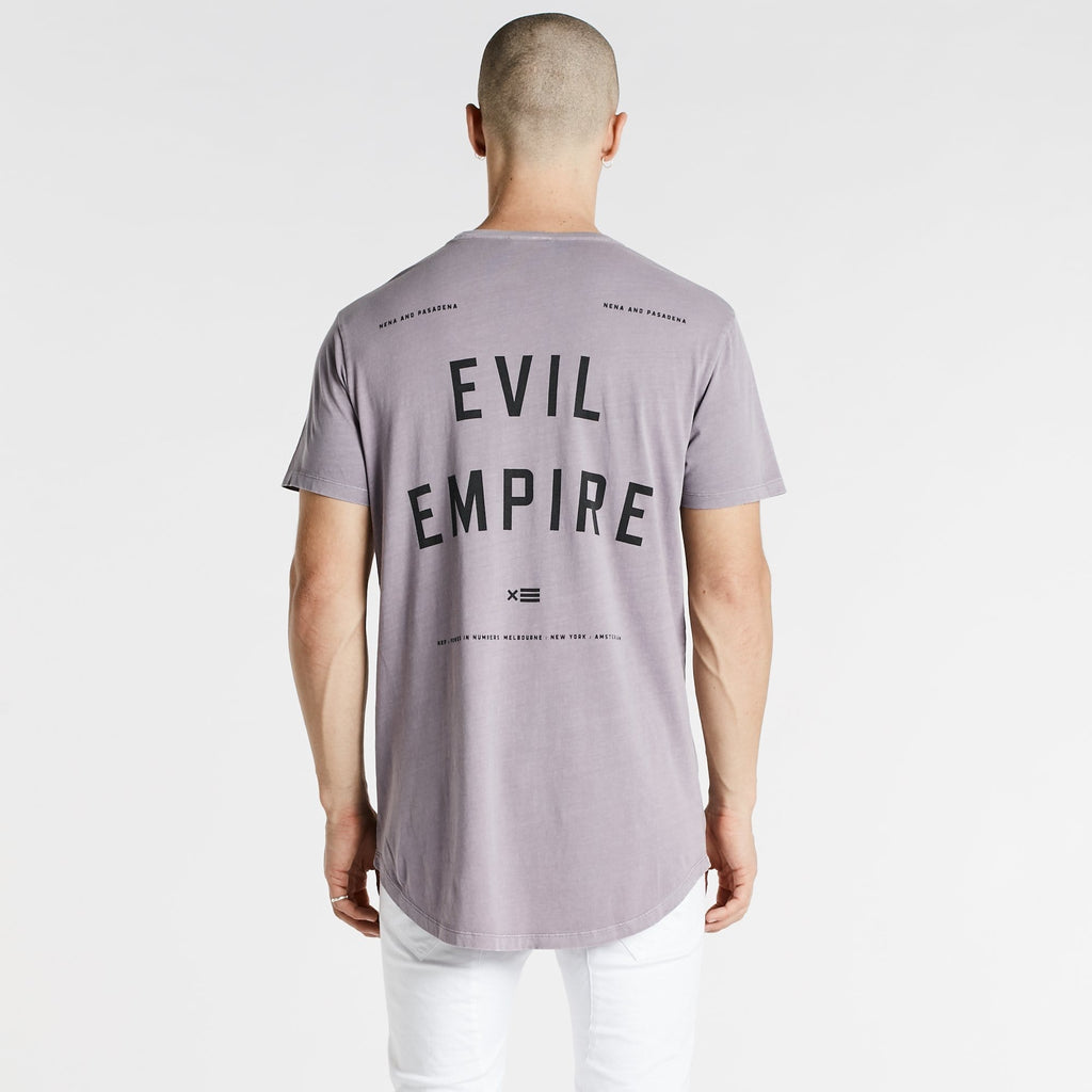 Evil Empire Cape Back T-Shirt Pigment Lilac