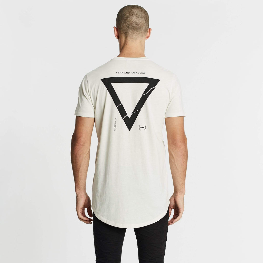 Feared Cape Back T-Shirt Off White