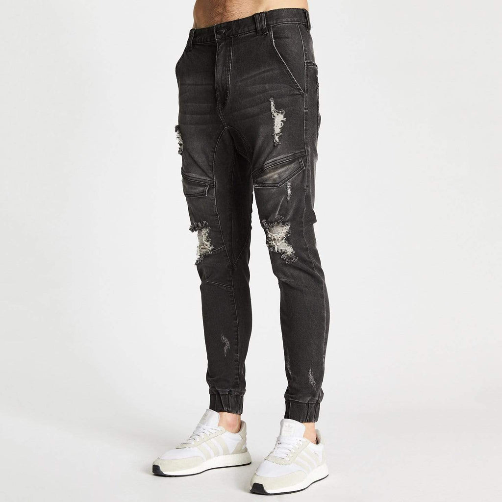 Flight Pants Broken Black