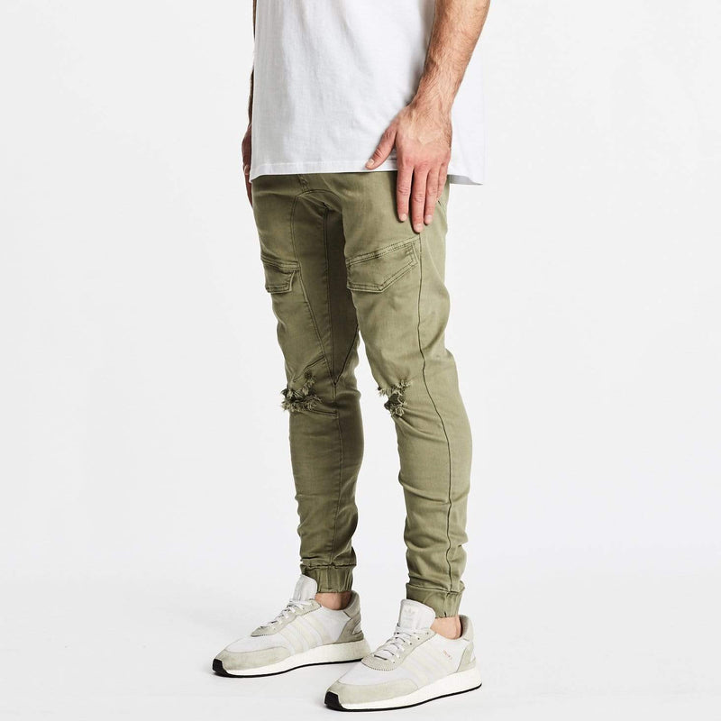 Flight Pants Destroyed Khaki