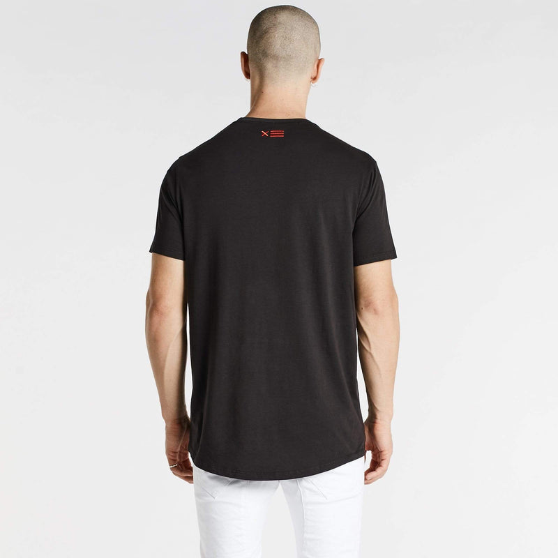 Freedom Scoop Back T-Shirt Pigment Black