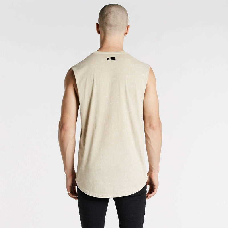 Generation Scoop Back Muscle Tee Acid Sand