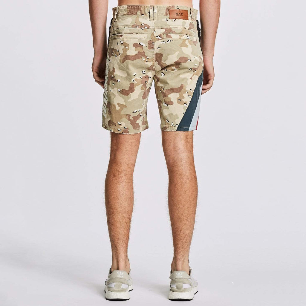 Hawkeye Tech Shorts Choc Chip Camo