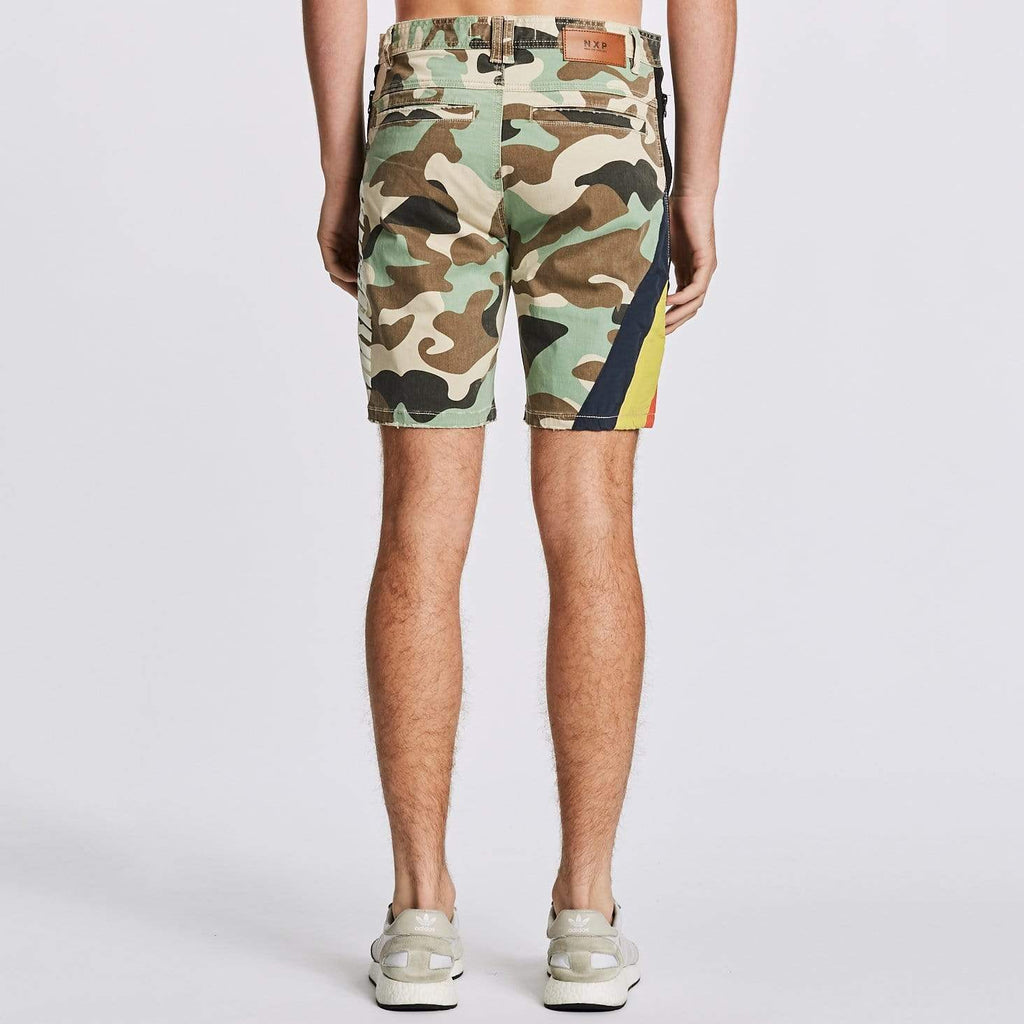 Hawkeye Tech Shorts Jungle Camo